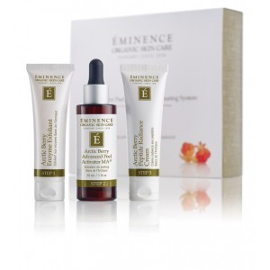 Arctic Berry Peel and Peptide Illuminating System (3 piece)