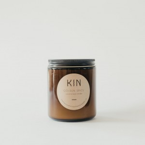 Golden Spice Candle